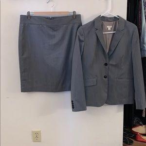 J Crew wool skirt suit. Size 10